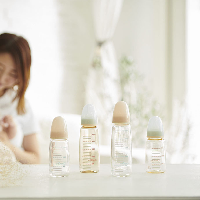 スリムタイプシリコーンゴム製 乳首 製品イメージ