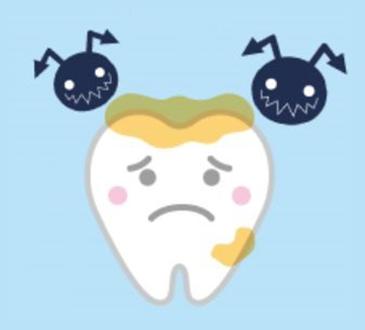 「子どもの歯・口の健康」⑥ 【むし歯編】~むし歯の原因~