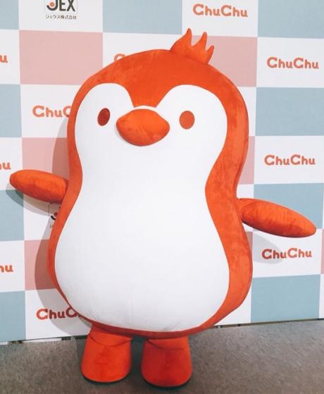 """ChuChuのキャラクター""""チュチュペンギン""""が 『ゆるキャラグランプリ2019』にて出場いたします!"""